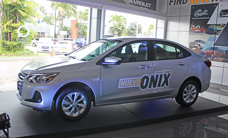 Se lanza nuevo Chevrolet ONIX cargado de seguridad, tecnología y fuerza